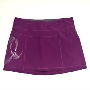 Lole Tennis Skirt Athletic Skort Built In Shorts